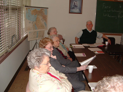 Berea is one of the longest meeting small groups at Merriam Christian Church.